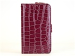 City Wallet PU Leather Case-Crocodile Pattern + 2 Premium Screen Protectors for Samsung Galaxy Note, GT-i9220/N7000