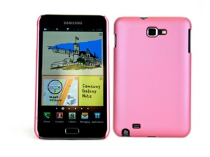 Deluxe Ultra Slim Shell Case + Premium Screen Protector for Samsung Galaxy Note, GT-i9220/N7000