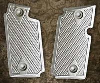 Rhyno All Silver Aluminum Grips for Sig Sauer P238