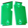 Rhyno Green Checkered Aluminum Grips for Sig P238