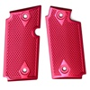 Rhyno Magenta Checkered Aluminum Grips for Sig P238