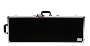 "42"" Aluminum Gun Case, tough aluminum gun case, wheeled"